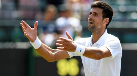 Novak Djokovic says not among favourites at Wimbledon, backs Roger Federer