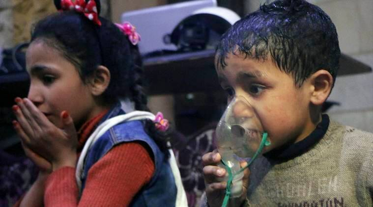 Syria, Syria attack, Chlorine attack, Syria chlorine attack, world news, indian express news