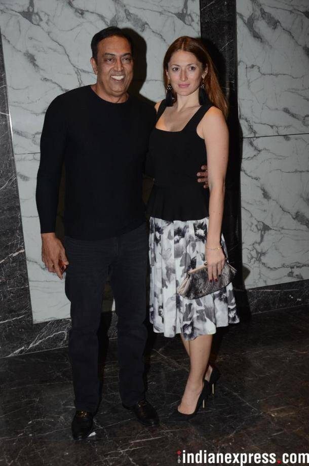 vindu dara singh at poonam dhillon party