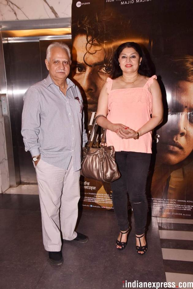 ramesh sippy at beyond the clouds screening