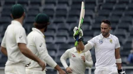 Faf du Plessis ton, Morne Morkel double strike keeps South Africa on course to big win againstAustralia