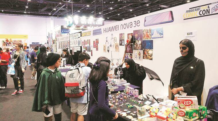 Dubai Comic Con, Carla Corsino, Middle East Film and Comic Con, Indian Express talk