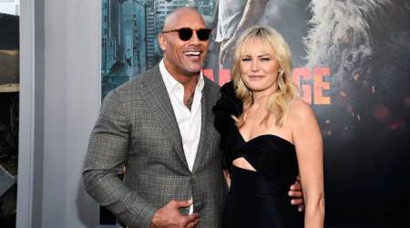 Rampage actor Malin Akerman on Dwayne Johnson: He's everything that you wish he was
