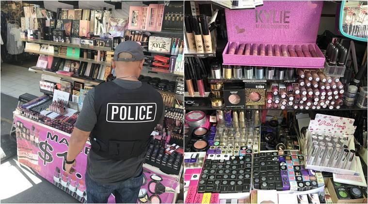 Kylie lip kits, counterfeit cosmetics, LAPD seized 0,000 worth of counterfeit cosmetics, Kylie, Anastasia, MAC brands, 0,000 counterfeit cosmetics Animal poop