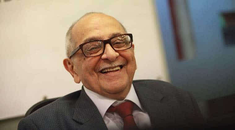Senior jurist Fali Nariman on Supreme Court crisis