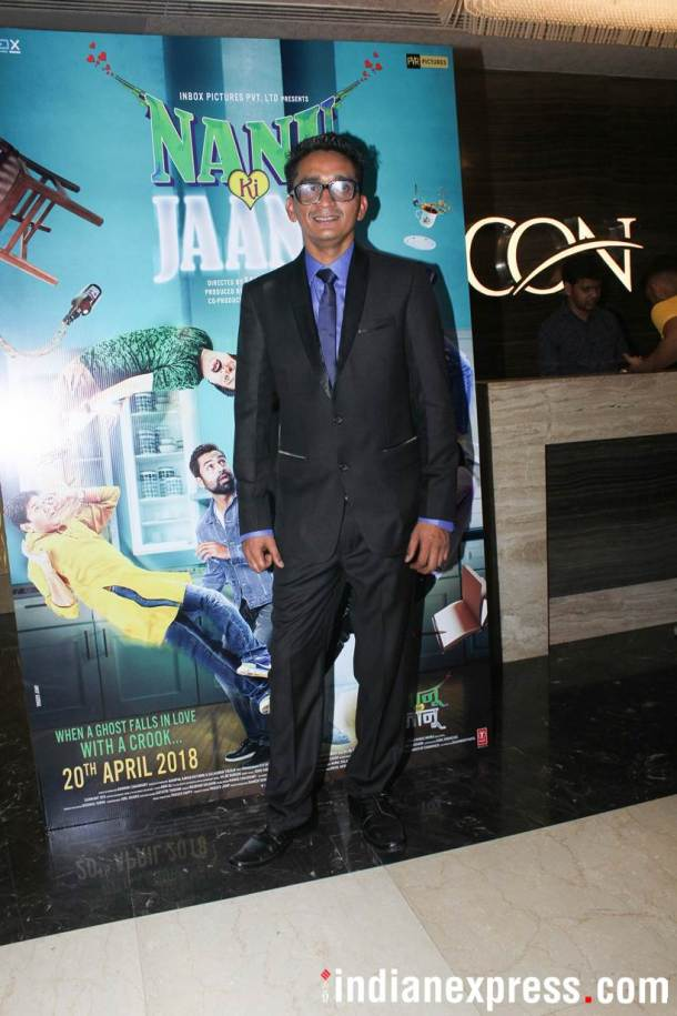 Faraz Haider Special screening of Nanu Ki Jaanu