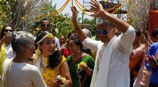 As Milind Soman and Ankita Konwar get ready to tie the knot, here's looking at their lovely pictures