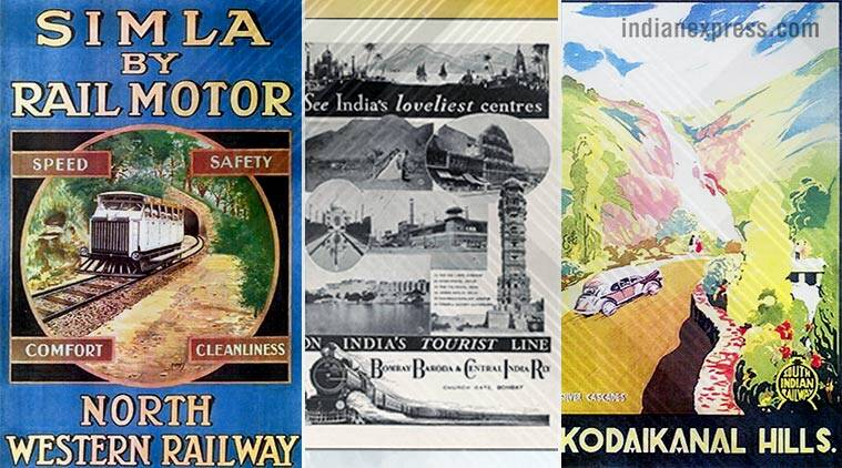 indian railways, tourism posters indian railways