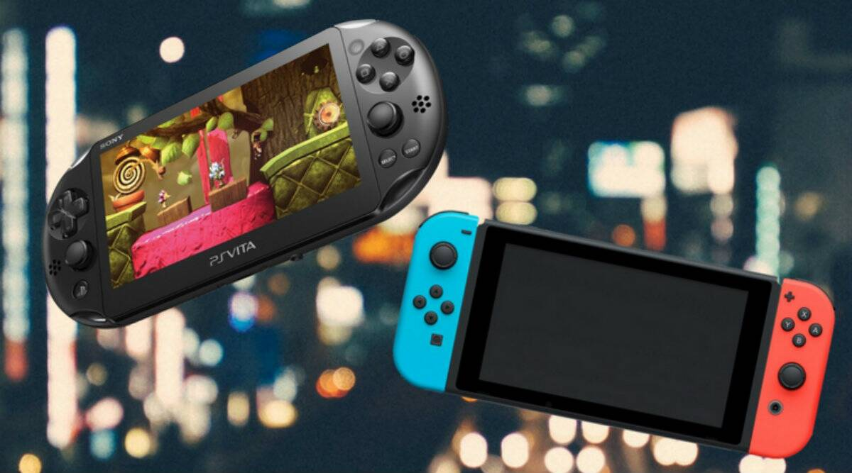 Five Points Where The Nintendo Switch Scores Over A Playstation Vita Technology News The Indian Express