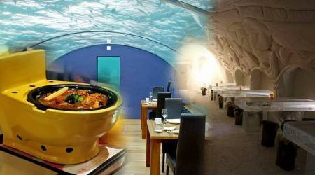 Top 10 weird and wonderful restaurants, restaurants around the world, new places to visit, new restaurants to visit, weird restaurants, weird hotels, weird places to visit, food news, indian express, indian express news