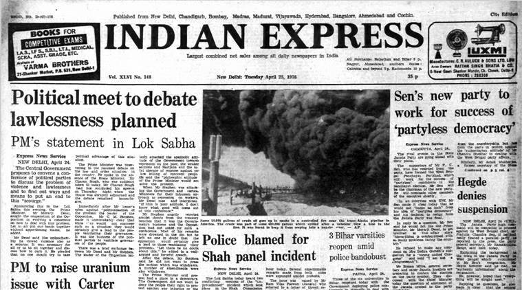 Forty Years Ago, April 25, 1978: Janata In Bengal