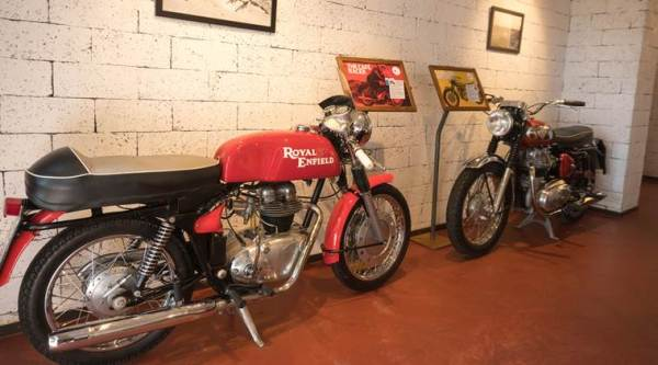 Royal Enfield Garage Cafe in Goa