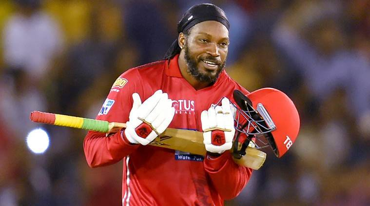 IPL Cricket: Gayle fires Kings XI to the top of the table