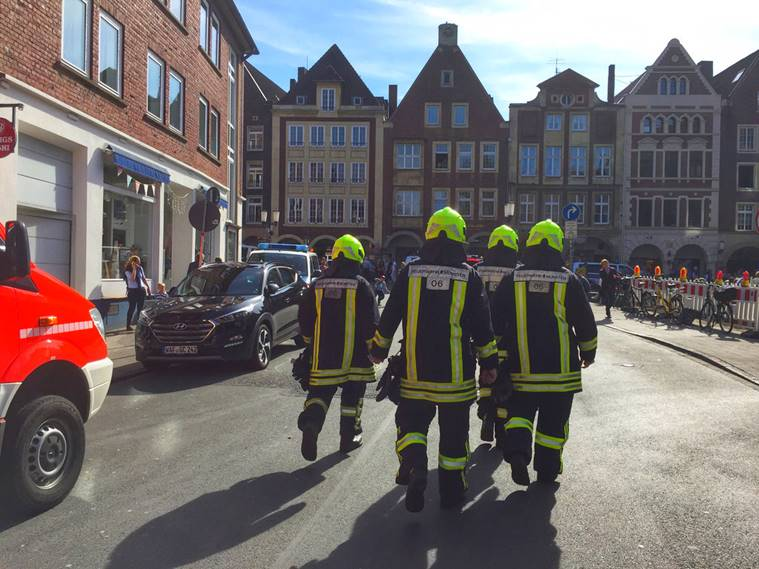 Germany: Several dead after vehicle ploughs into crowd in Muenster city