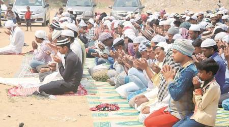 Gurgaon: Protest to press for release 6 who disrupted namaz