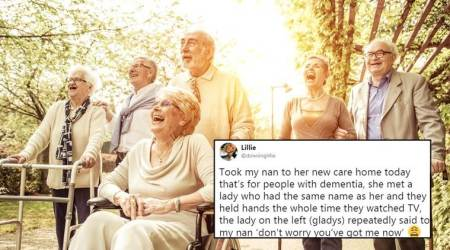 Girl's tweet about how her grandmother with dementia making a friend will leave you teary-eyed