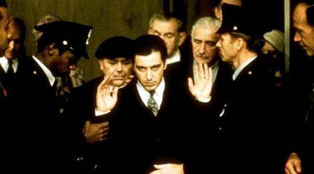 A still from The Godfather II