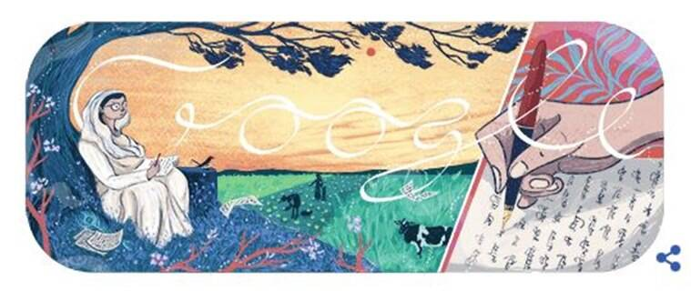 महादेवी वर्मा, mahadevi varma, mahadevi varma poet, mahadevi varma google doodle, hindi poet, Chhayavad movement, google doodle today, who is mahadevi verma, indian express