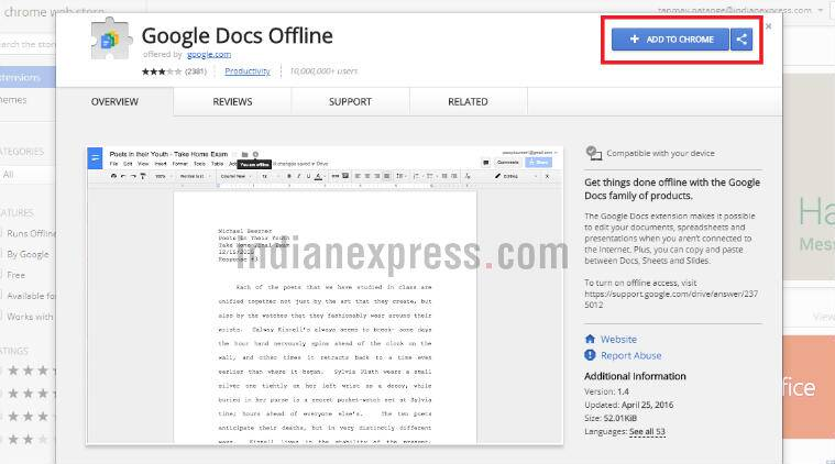 How to access Google Drive files offline | Technology News