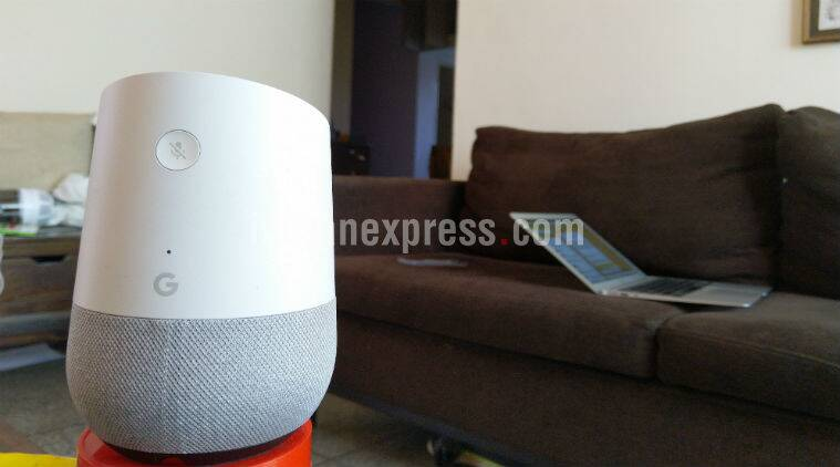 Google Home Review Hey Please Learn More Stuff Fast The Indian Express.