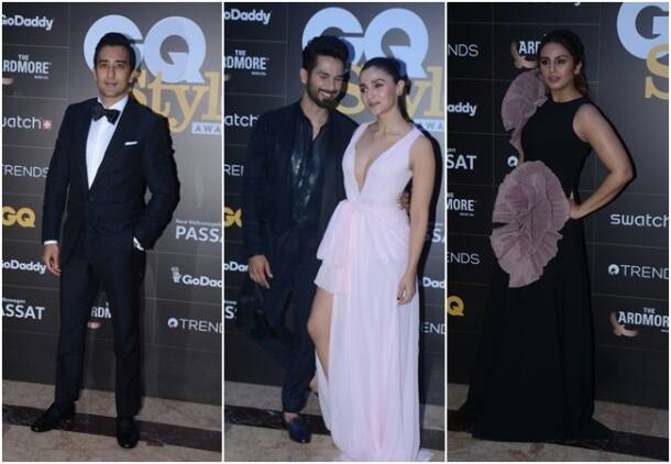 alia bhatt, shahid kapoor, akshay kumar, gq style awards 2018, gq style awards 2018 photos, alia bhatt latest, shahid kapoor latest news, Indian Express, Indian Express News