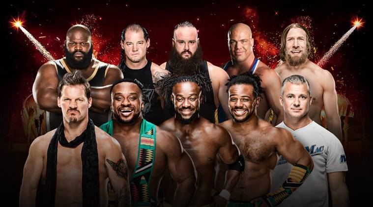 WWE Greatest Royal Rumble results: Ladder Match for the Intercontinental Championship