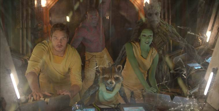 guardians of the galaxy chris pratt avengers infinity war