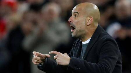 Pep Guardiola believes Manchester City can go through despite Anfield mauling