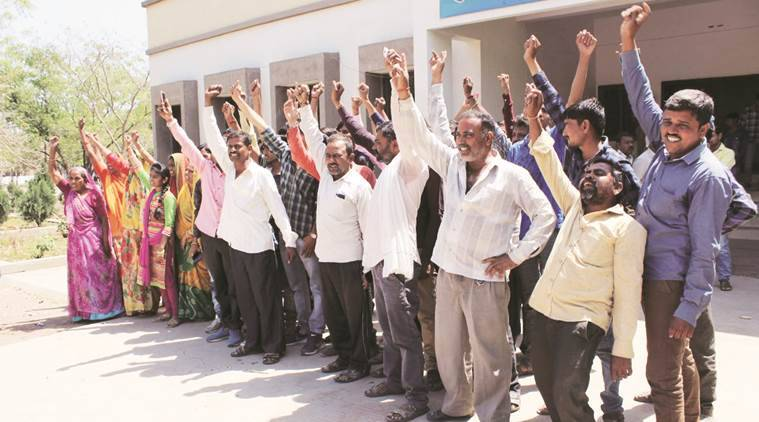 Gujarat: Farmers resist possession of acquired land, 50 detained