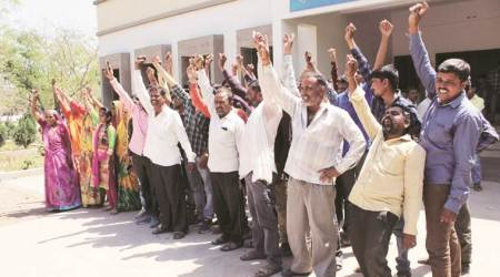 Gujarat: Farmers resist possession of acquired land, 50detained
