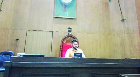 Gujarat Assembly: Photos of man sitting on Speaker's chair go viral, inquiryordered