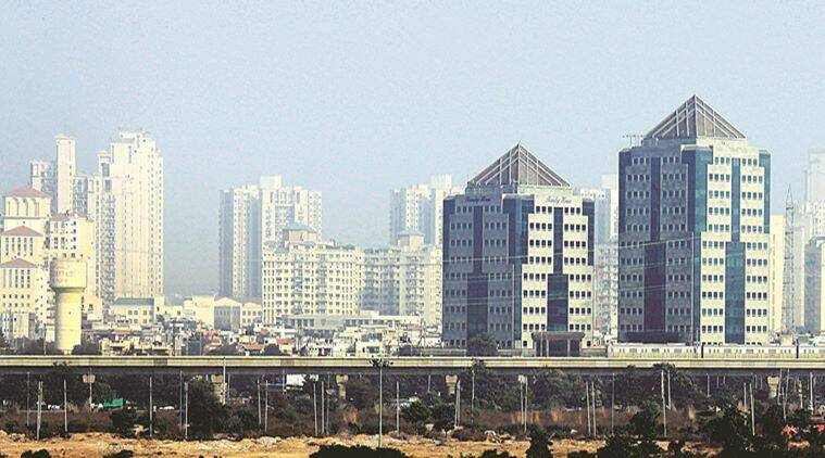Skyscraper city Gurgaon has just one hydraulic platform for firefighting