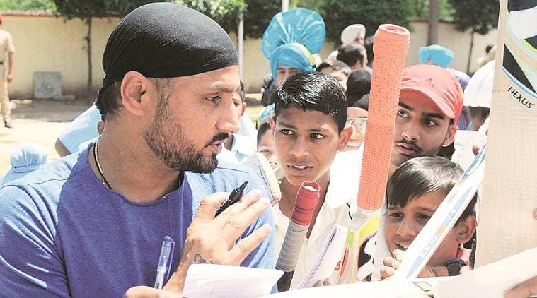 Harbhajan launches cricket academy at Togan village, says need to encourage kids
