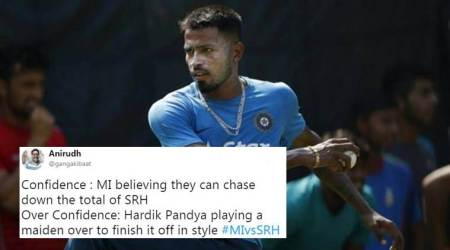 IPL 2018, MI vs SRH: Twitterati brutally troll Hardik Pandya for his performance