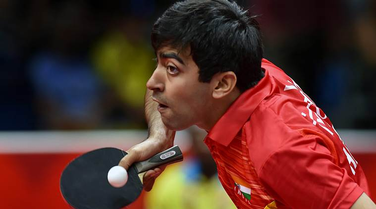 Harmeet Desai Ayhika Mukherjee Win As India Complete Golden Sweep In Commonwealth Table Tennis Championships Sports News The Indian Express