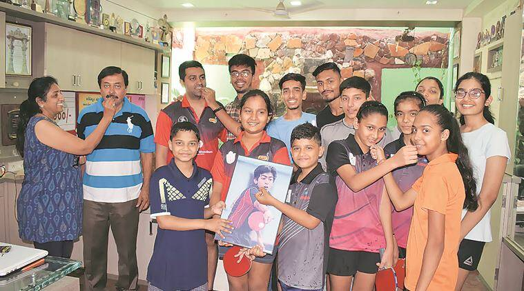 Harmeet Desai, table tennis men's doubles, G Sathiyan, commonwealth games 2018, gold coast, indian express news
