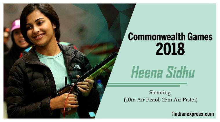 Experienced Heena Sidhu carries India's hopes at Commonwealth Games