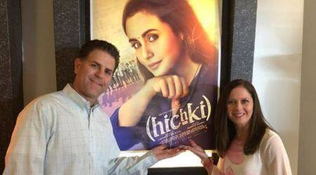 Rani Mukerji has found a new fan in Brad Cohen, the inspiration behind Hichki