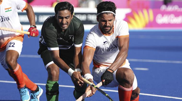 India and Pakistan clashed in hockey at CWG 2018