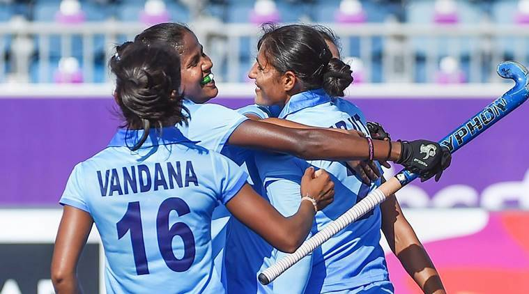 India Women Hockey at Commonwealth Games 2018