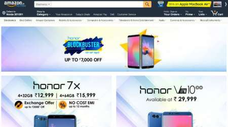 Honor Blockbuster Days sale on Amazon India: Top discounts on Honor 7X, Honor 8 Pro, and more
