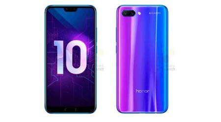 Honor 10 image renders in 'Twilight' colour leaked, launch on April 19 in China