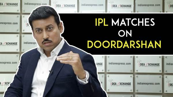 IPL matches on Doordarshan