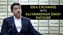 Idea Exchange With Union Minister Rajyavardhan Singh Rathore