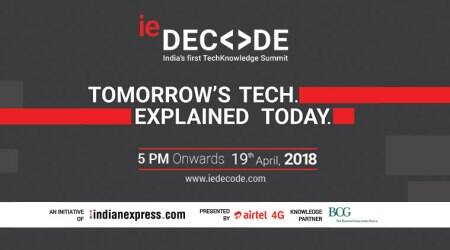 Log in to ieDecode.com today for India's first online techknowledge summit