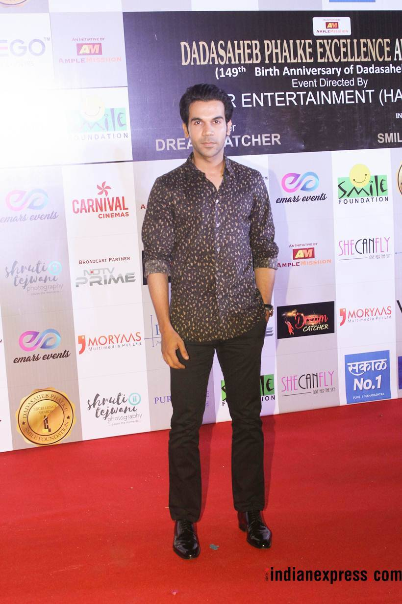 rajkummar rao at dada saheb phalke excellence awards