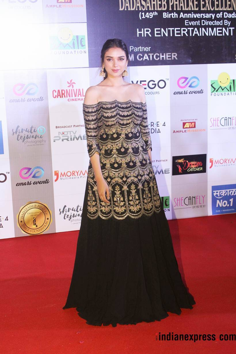 aditi rao hydari at dada saheb phalke excellence awards