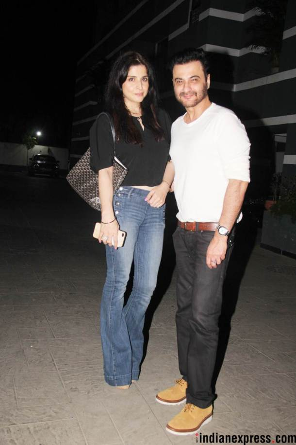 sanjay kapoor with wife