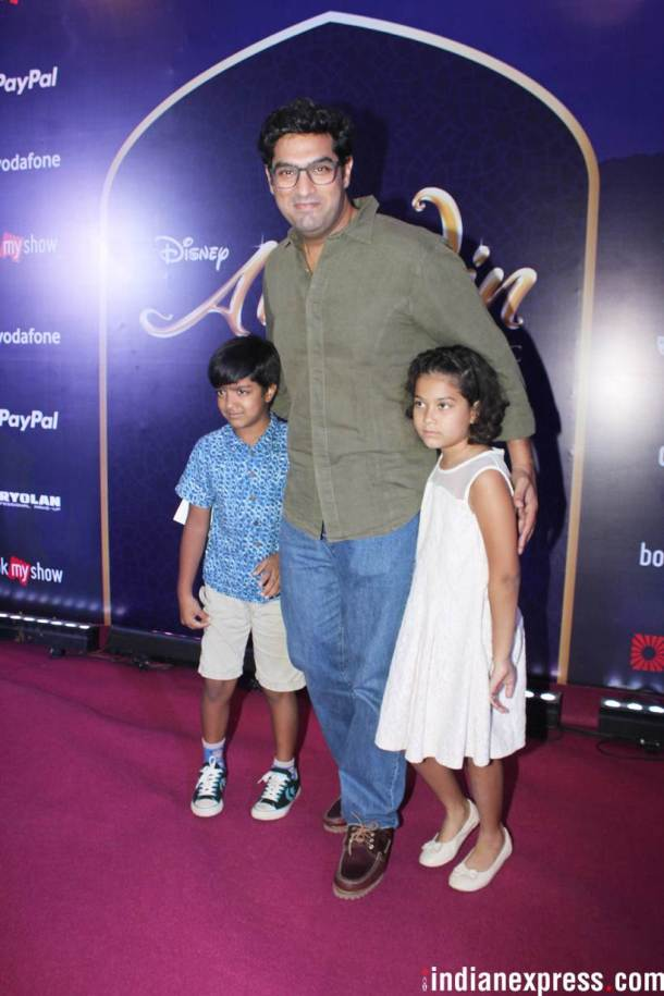 Kunal Kapoor Roy at the premiere of Aladdin