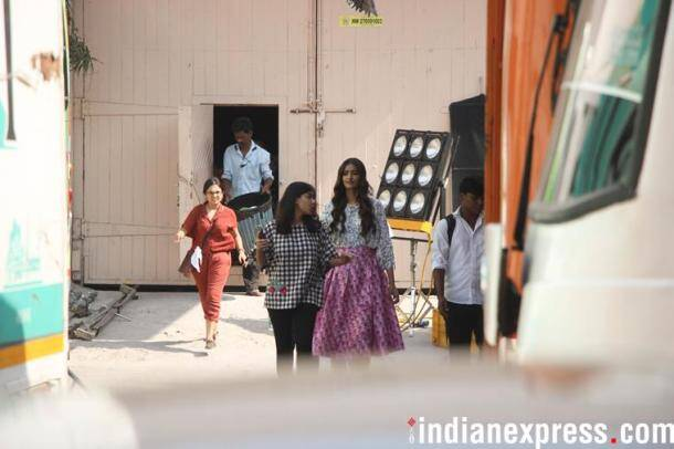 Sonam Kapoor on Veere di wedding sets